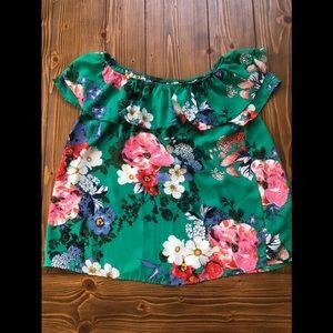 Fun floral top